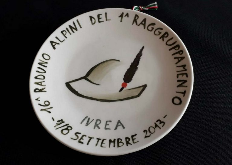 Piatto Commemorativo